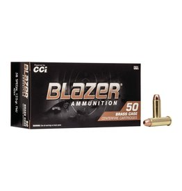 CCI CCI Blazer Brass Centerfire Pistol Ammo 38 Special 125 GR FMJ