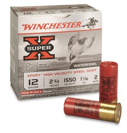 "Winchester Winchester Super-X Xpert Shotshell 12 GA 2-3/4"" No. 2, 1-1/16oz, 1550 fps 25ct"