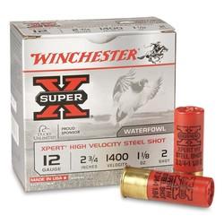 "Winchester Super-X Xpert Shotshell 12 GA 2-3/4"", 1-1/8oz 1400 fps 25 Rnds"