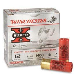 "Winchester Winchester Super-X Xpert Shotshell 12 GA 2-3/4"", 1-1/8oz 1400 fps 25 Rnds"