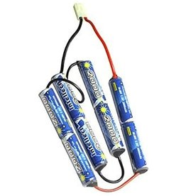 Intellect 9.6v 2000 mAh Butterfly Battery