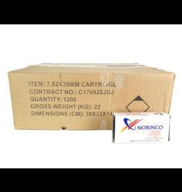 Norinco Norinco 7.62x39mm 122GR FMC 1200ct Non Corrosive