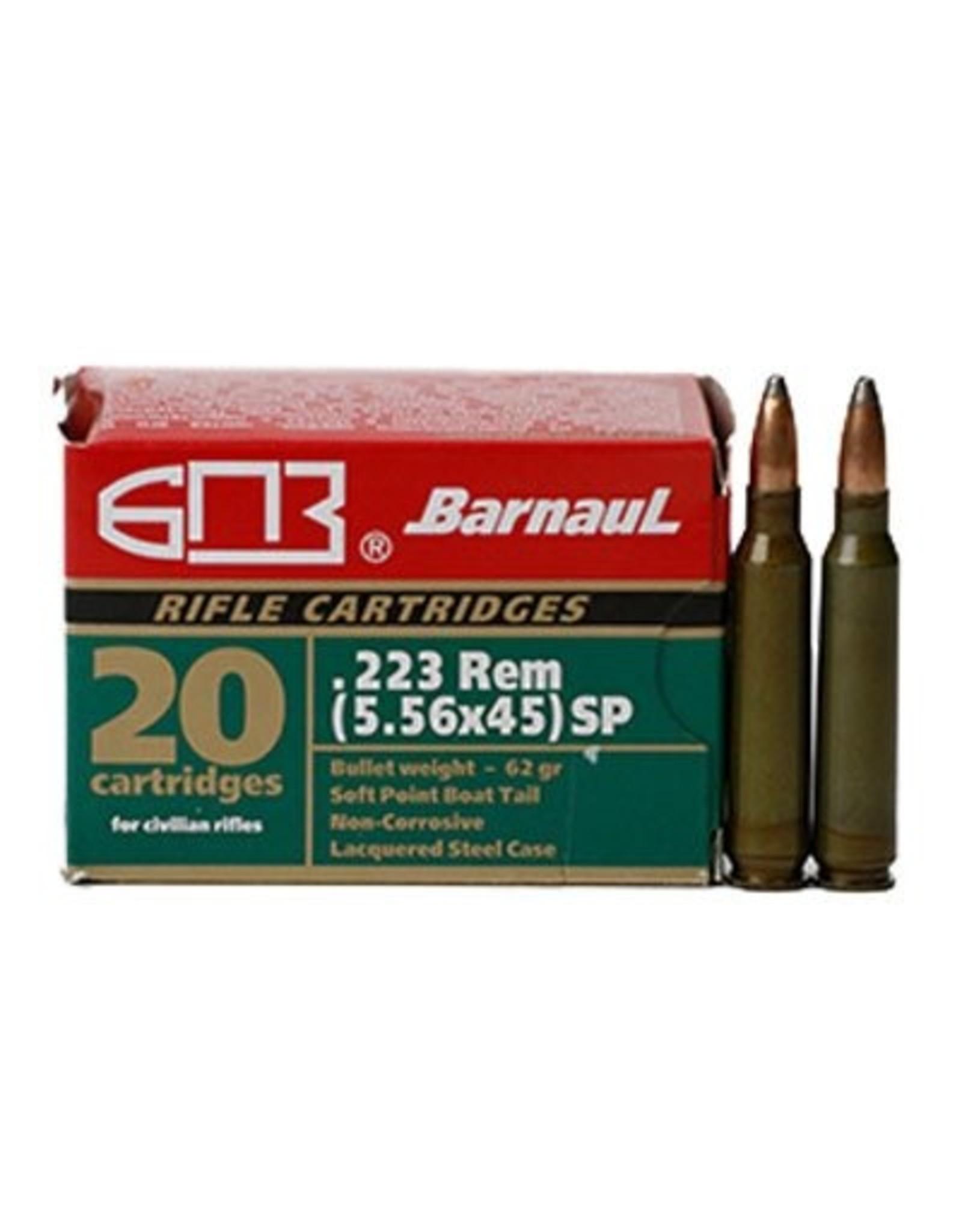 Barnaul Barnaul .223 Rem SP 62GR 500ct