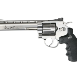 "ASG Airgun GNB Co2 4.5mm Dan Wesson 6"" Silver Revolver"