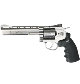 "ASG ASG Airgun GNB Co2 4.5mm Dan Wesson 6"" Silver Revolver"