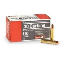 Sellier & Bellot 30 Carbine 110 FMC 50ct