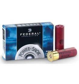 "Federal Federal Power-Shok Shotgun Ammo 12GA 2-3/4"" 1325FPS 5rds #00"