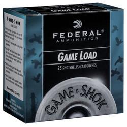 Federal Game-Shok Upland Game Shotshell 12 GA 6 10z 1290FPS 25rds