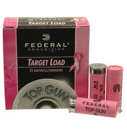 Federal Federal Top Gun Target Shotshell 12 GA 2-3/4 1-1/8oz 1145 fps Pink 25ct