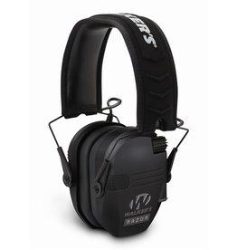 Walkers Walkers Razor Slim Shooter Folding Electronic Ear Muff Low Profile HD Sound Black