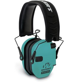 Walkers Walkers Razor Slim Shooter Folding Electronic Ear Muff Low Profile HD Sound Teal