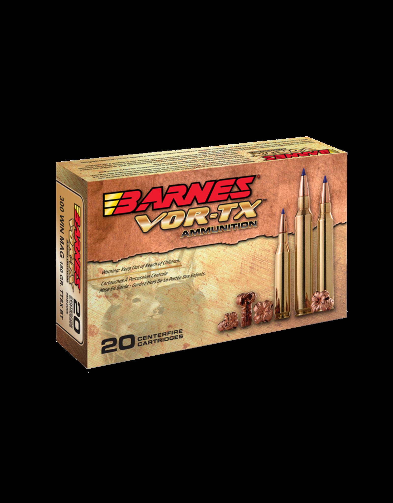 Barnes Barnes Vor-TX Rifle Ammo 30-06 SPR TTSX BT 180GR 20ct