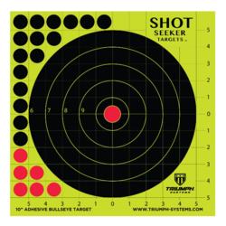 Triumph Shot Seeker Adhesive Bulleye Target 10 Pack