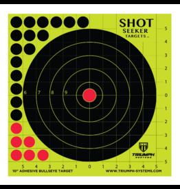 triumph Triumph Shot Seeker Adhesive Bulleye Target 10 Pack