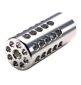 "TacSol Tacsol .920"" X-Ring Compensator Silver"