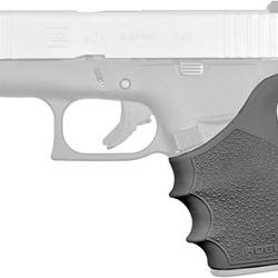 Hogue HandAll Beavertail Grip Sleeve, Glock 17, G17L, G19X, G34