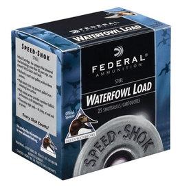 "Federal Federal Speed Shok Waterfowl Shotshell 20GA 3"" 2 Shot 1550FPS 25ct"