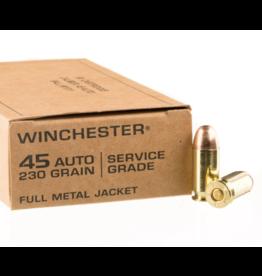 Winchester Winchester 45 Auto 230 GR  Service Grade FMJ 50ct