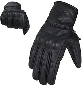 Golden Plaza Leather Gloves with knuckle protection L