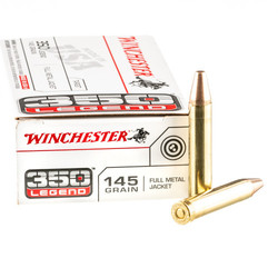 Winchester 350 Legend FMJ 145 GR