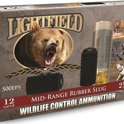 "Lightfield 12GA Rubber Buckshot  2 3/4"" 750FPS"