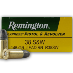 Remington 38 s&w 146GR Lead RN 50ct