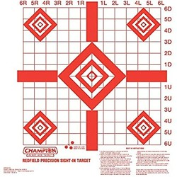 Champion Red Field Precision Sight-in Target
