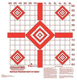 Champion Champion Red Field Precision Sight-in Target