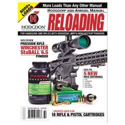 Hodgdon Annual Reloading Manual 2020