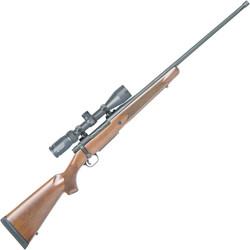 "Mossberg 28127 Patriot Bolt Action Rifle 7mm REM MAG 24"" Barrel Walnut Stock 3+1 Combo vortex Crossfire 3-9x40 Scope"