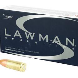 CCI Speer 53620 Lawman, 9MM Luger, 147 Grain, Total Metal Jacket, 1000 Round