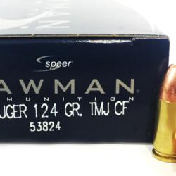 CCI 9mm Luger 124 GR TMJ CF Lawman Lead Free 50ct