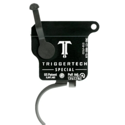 Trigger Tech Remington 700 Special PVD Black Curved With Bolt Release