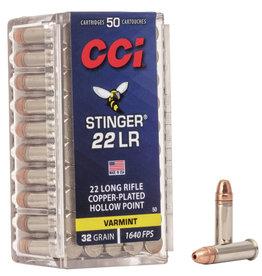 CCI/Blazer CCI Stinger Rimfire Ammo 22LR CPHP 32GR 50ct