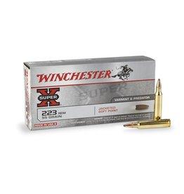 Winchester Winchester Super X 223 REM JSP 55 Grains 20ct