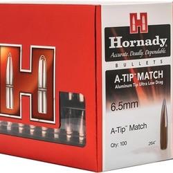 Hornady Bullet 6.5mm .264 153GR A-TIP Match 100ct