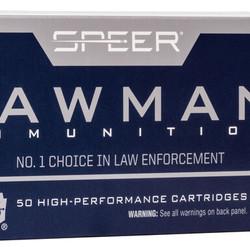 CCI 9mm Luger 147GR TMJ CF Lawman Lead Free 50ct