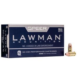 CCI/SPEER CCI 9mm Luger 147GR TMJ CF Lawman Lead Free 50ct