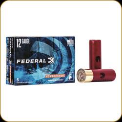 "Federal Power-Shok Shotgun 12GA 3"" 00 Buck 5 ct"