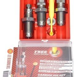 LEE Reloading 9mm Luger 3 piece Carbide Die Set