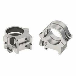 "Weaver Quad- Lock 1"" High Rings Silver"