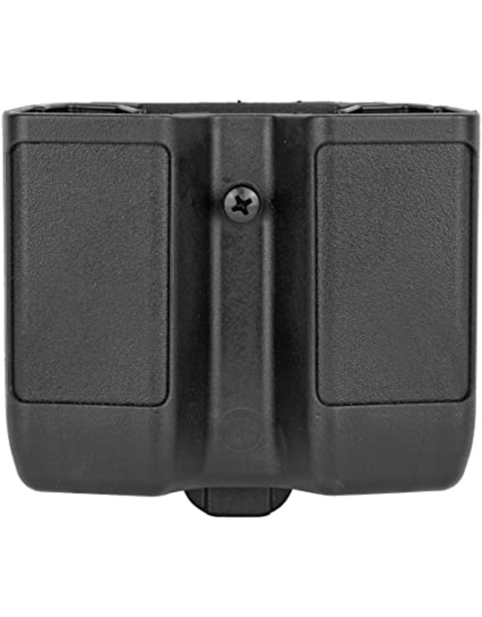 BlackHawk BlackHawk Single Stack Double Mag Case Matte Finish