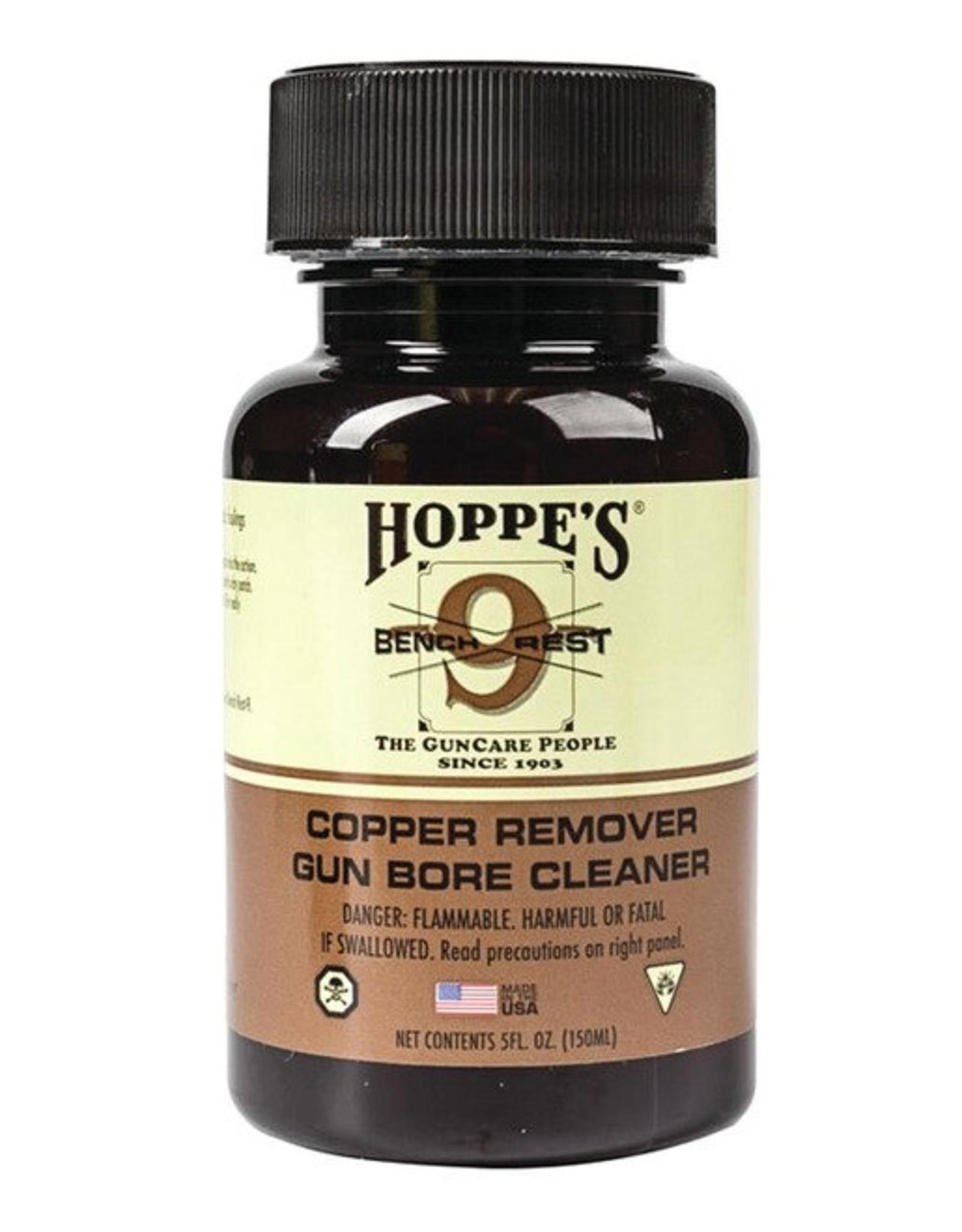 Hoppe's Bench Rest 9 Copper Solvent 4 OZ.