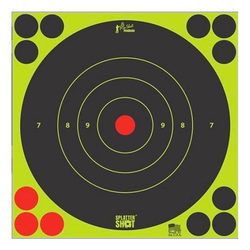"""Pro-Shot Splatter Shot 8"""" Bulleye 6 Pack"""