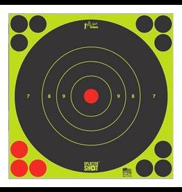 "Pro-shot Pro-Shot Splatter Shot 8"" Bulleye 6 Pack"