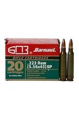 Barnaul Barnaul .223 Rem 55GR SP 20ct
