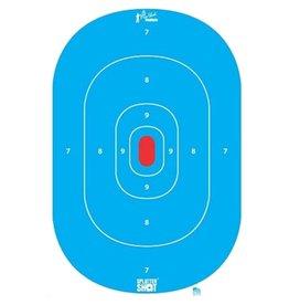 Pro-shot Pro-Shot 12x18 High Visibility Blue Target 8 PK