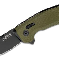 SOG-TAC XR Folding Knife OD Green