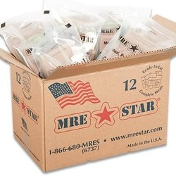 US Rations Meals Ready to Eat Case of 12