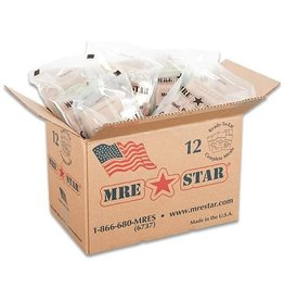 MRE STAR US Rations Meals Ready to Eat Case of 12